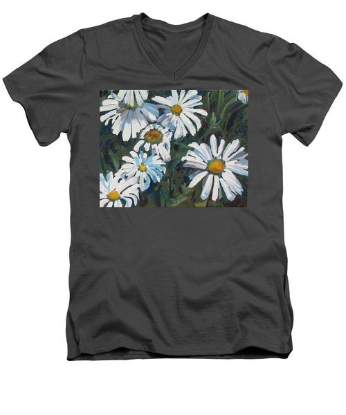 Some Are Daisies Men's V-Neck T-Shirt