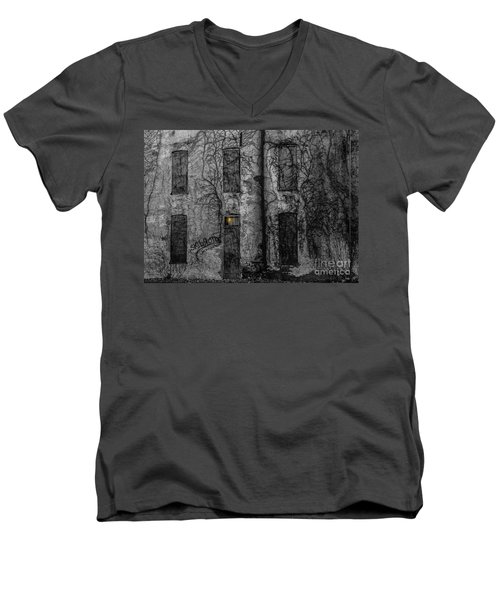 Someone's Home Men's V-Neck T-Shirt