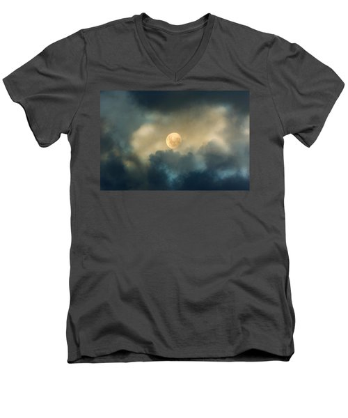 Song To The Moon Men's V-Neck T-Shirt