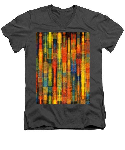Sonic Dreams Of Glory Men's V-Neck T-Shirt by Sandy MacGowan