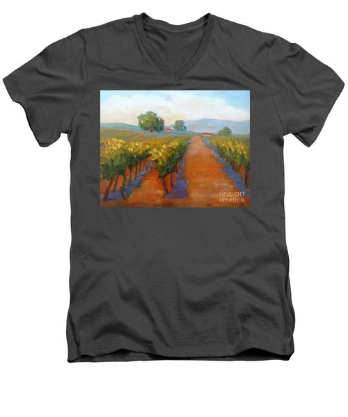 Sonoma Vineyard Men's V-Neck T-Shirt
