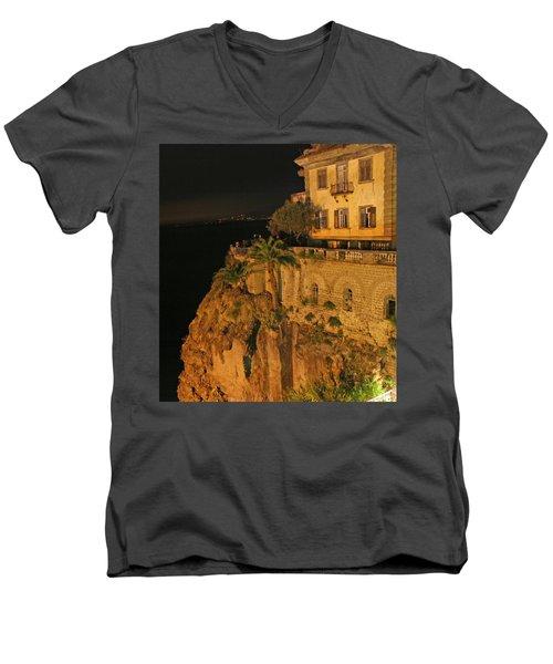 Sorrento Italy Men's V-Neck T-Shirt