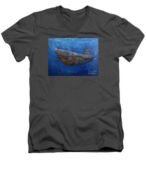 Soul Hunter Men's V-Neck T-Shirt by Arturas Slapsys