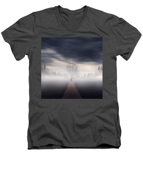 Soul's Journey Men's V-Neck T-Shirt