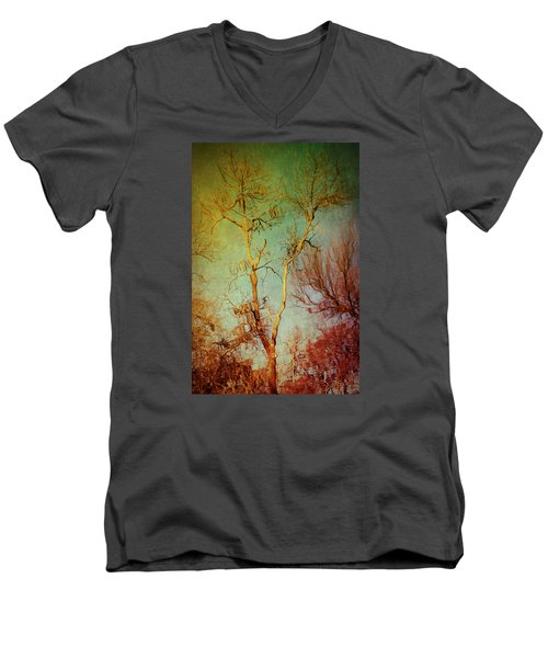 Souls Of Trees Men's V-Neck T-Shirt