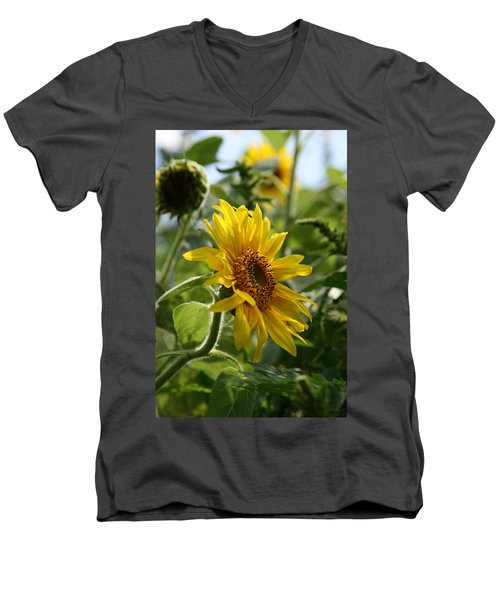 Men's V-Neck T-Shirt featuring the photograph Soulshine No.2 by Neal Eslinger
