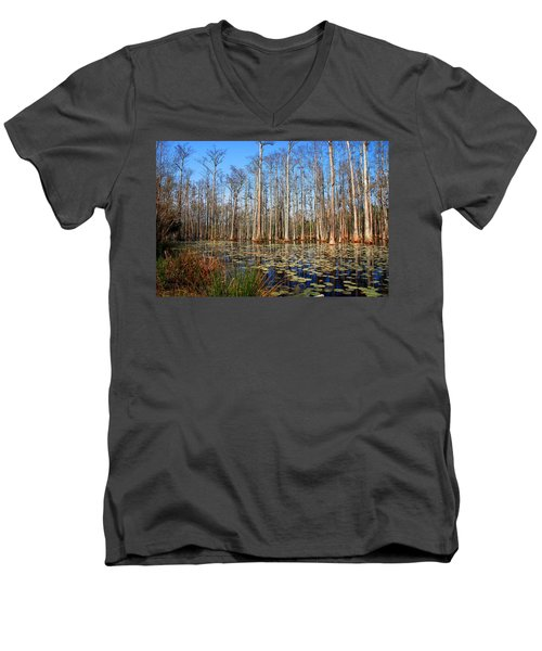 South Carolina Swamps Men's V-Neck T-Shirt