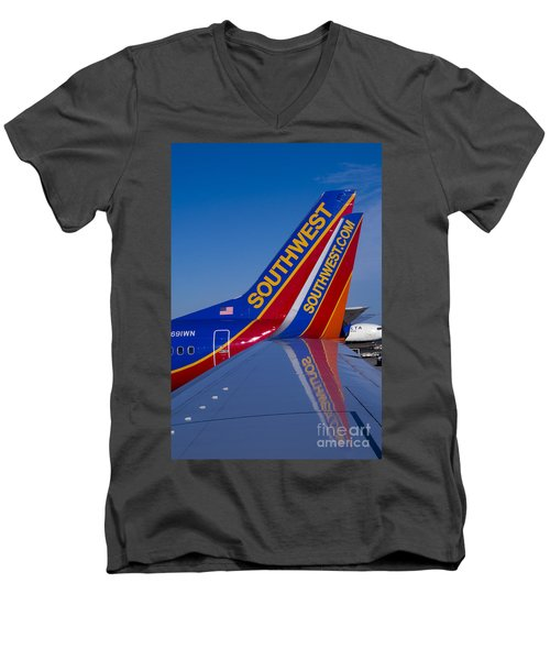 Southwest Men's V-Neck T-Shirt