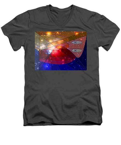 Space Odyssey 08 Men's V-Neck T-Shirt