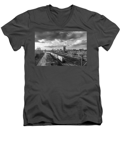Speedy Et Men's V-Neck T-Shirt