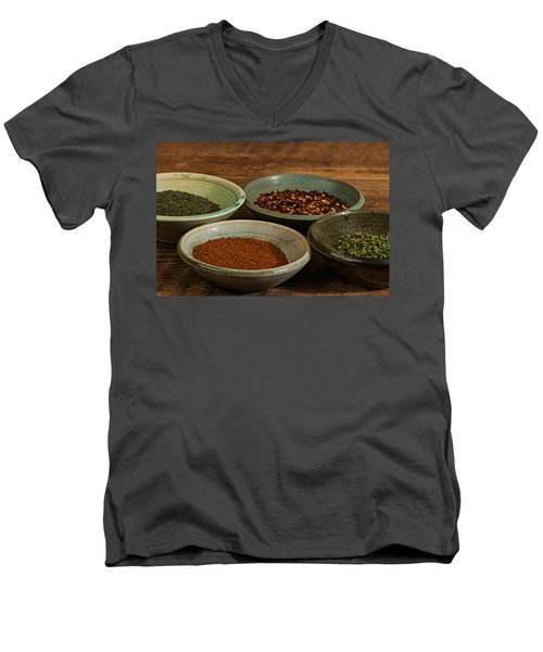 Spices Men's V-Neck T-Shirt