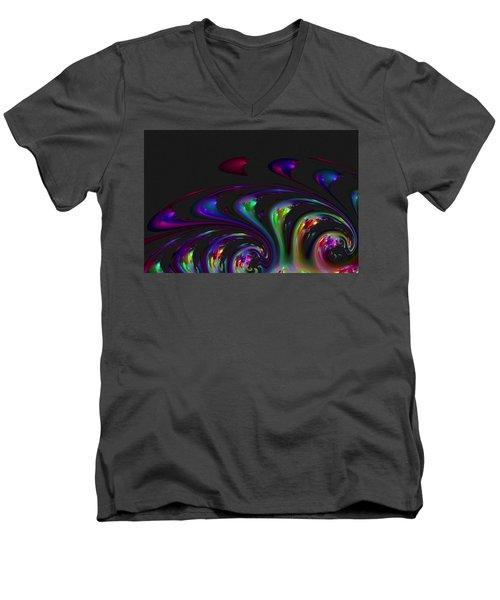 Spin Off Men's V-Neck T-Shirt