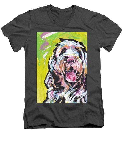 Spin One Baby Men's V-Neck T-Shirt