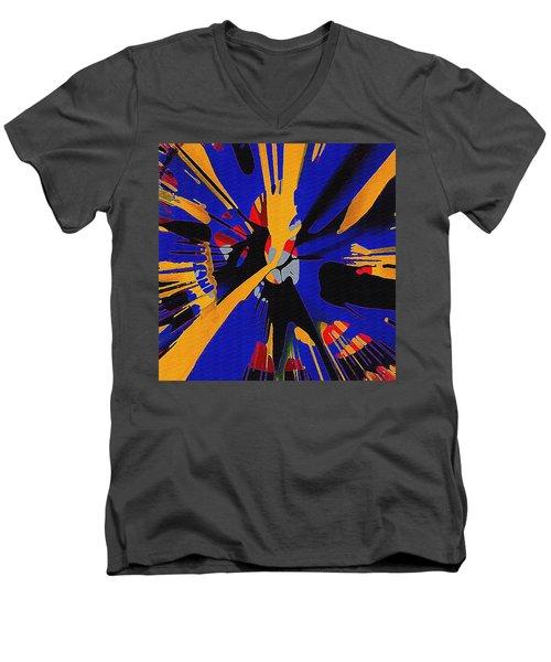 Spinart Revival II Men's V-Neck T-Shirt