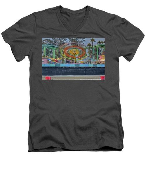 Spinning Men's V-Neck T-Shirt