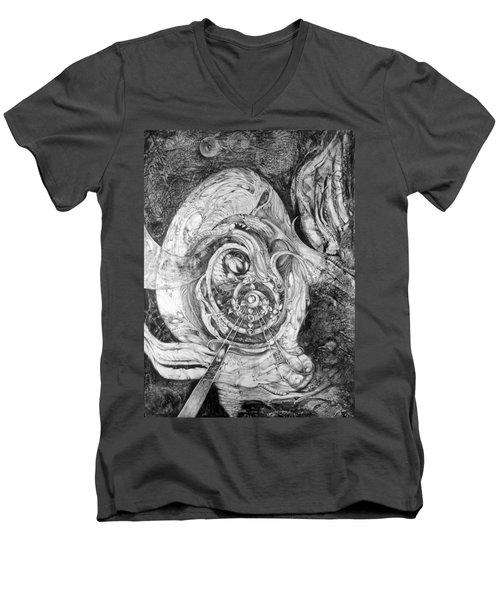 Spiral Rapture 2 Men's V-Neck T-Shirt