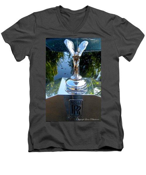 Spirit Of Ecstacy Men's V-Neck T-Shirt by Leena Pekkalainen