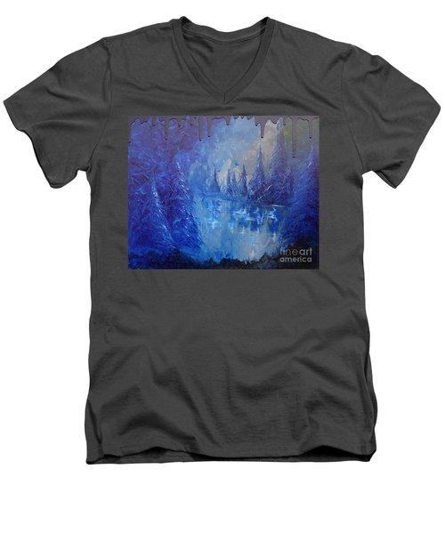 Spirit Pond Men's V-Neck T-Shirt