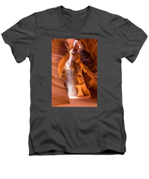 Spirit Walker Men's V-Neck T-Shirt by Tassanee Angiolillo