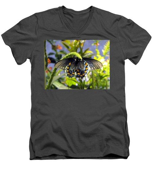 Spotted Beauty Men's V-Neck T-Shirt