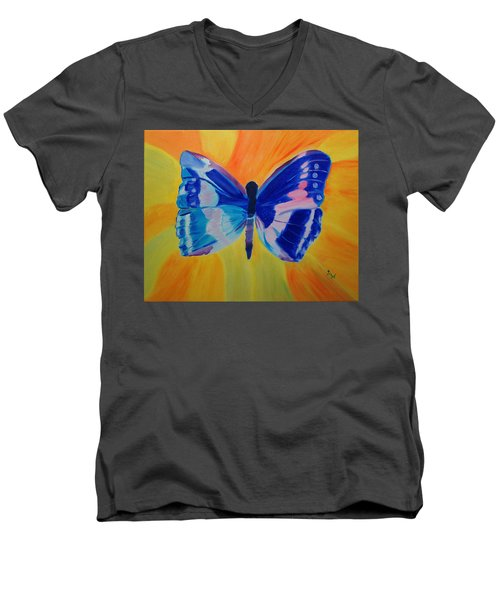 Spreading My Wings Men's V-Neck T-Shirt