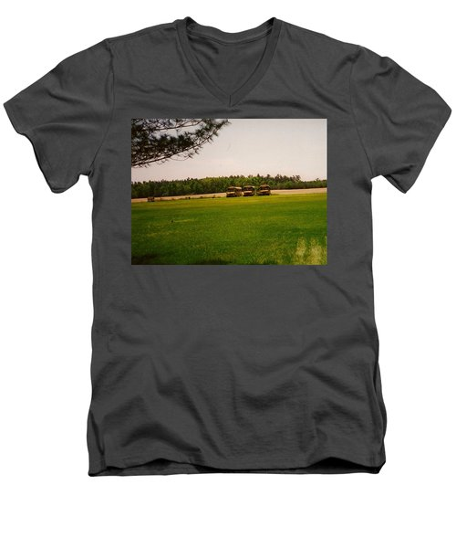 Spring Break Time To Party Men's V-Neck T-Shirt by Amazing Photographs AKA Christian Wilson