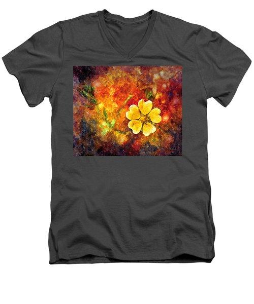 Spring Color Men's V-Neck T-Shirt