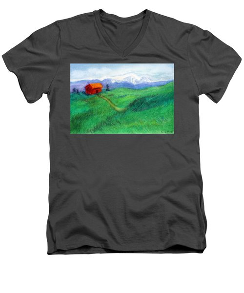 Spring Day Men's V-Neck T-Shirt