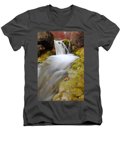 Spring Falls Men's V-Neck T-Shirt