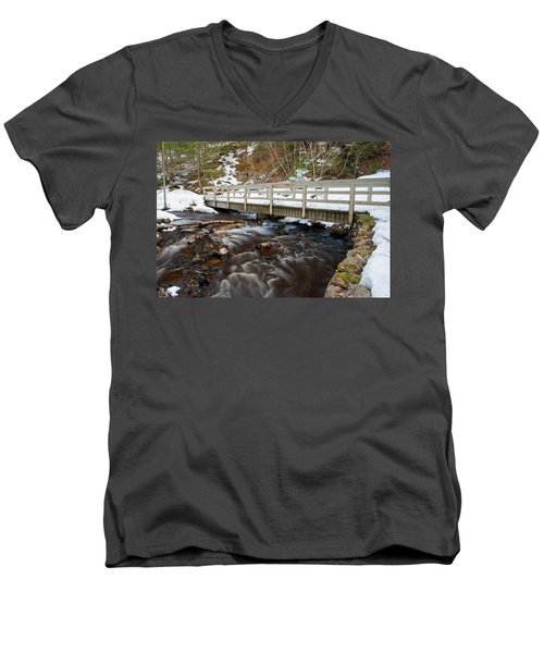 Spring Hike  Men's V-Neck T-Shirt