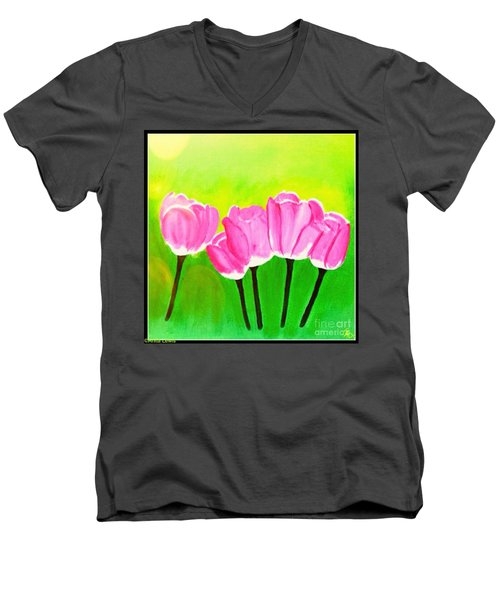Spring I Men's V-Neck T-Shirt