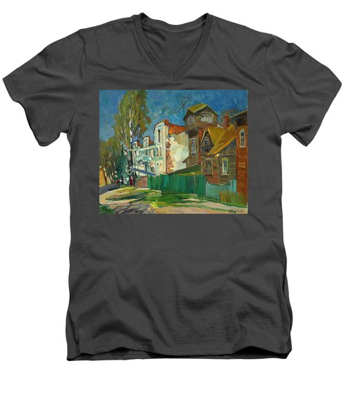Spring In The Province Men's V-Neck T-Shirt