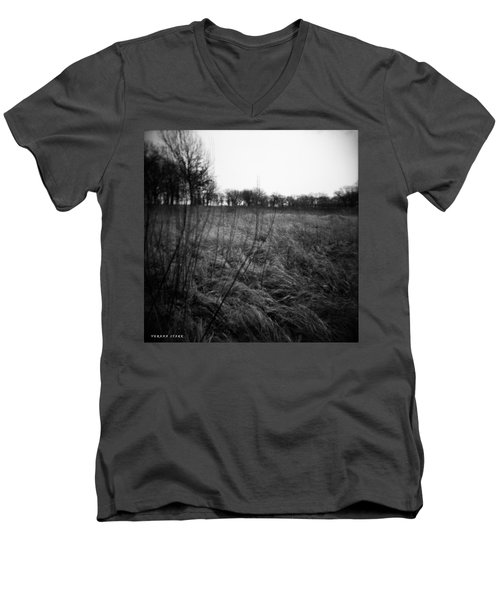 Spring Is Near Holga Photography Men's V-Neck T-Shirt by Verana Stark