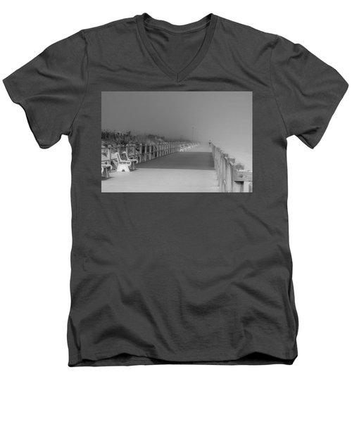 Spring Lake Boardwalk - Jersey Shore Men's V-Neck T-Shirt