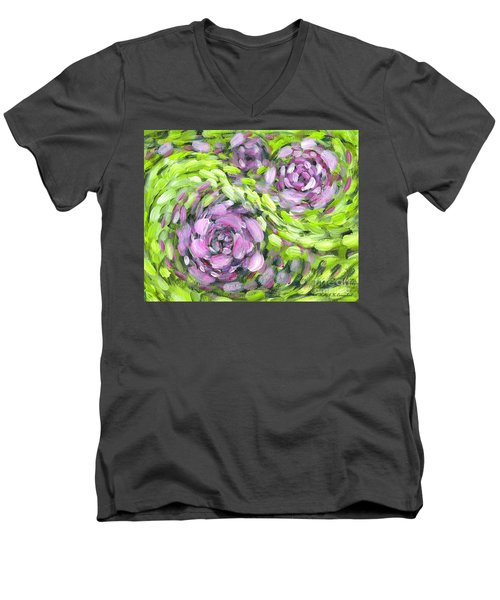 Spring Whirl Men's V-Neck T-Shirt