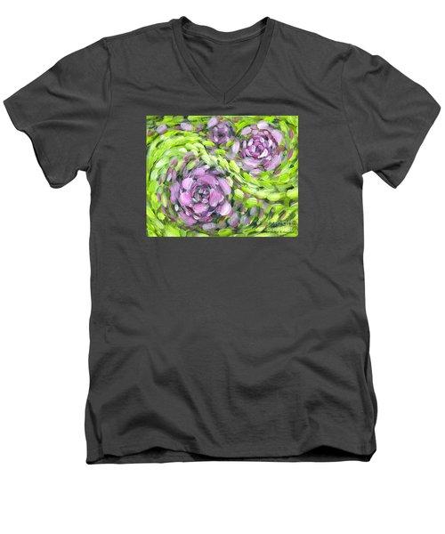 Spring Whirl Men's V-Neck T-Shirt