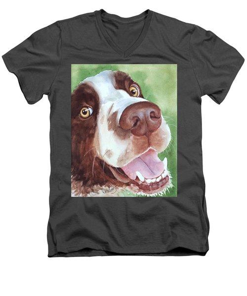 Springer Men's V-Neck T-Shirt