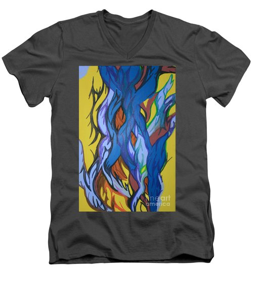 Sprouting Seed 2 Men's V-Neck T-Shirt