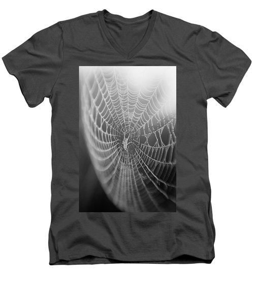 Spyder Web Men's V-Neck T-Shirt