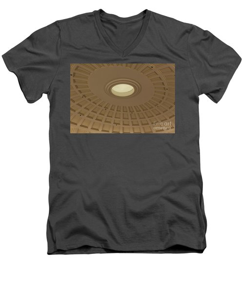 Men's V-Neck T-Shirt featuring the photograph Squares N Rectangles by Chris Thomas