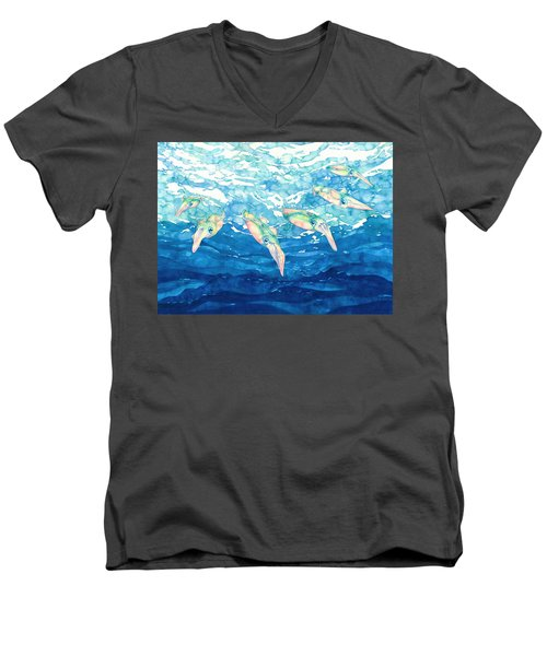 Squid Ballet Men's V-Neck T-Shirt