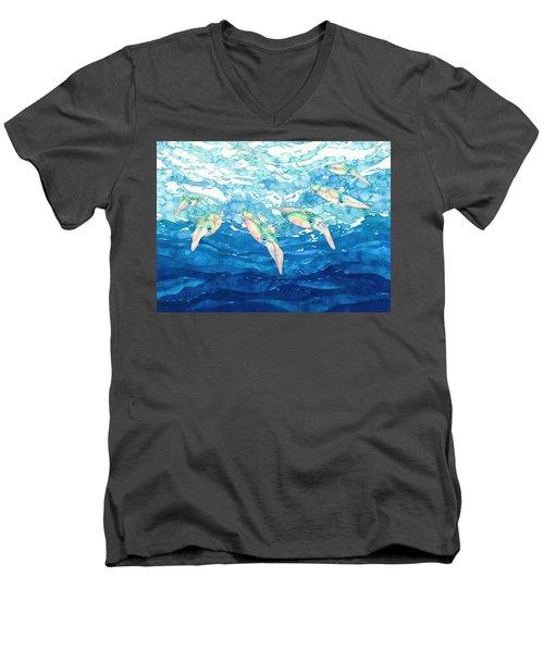 Squid Ballet Men's V-Neck T-Shirt