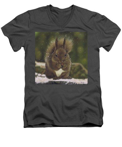 Squirrel Nutkin Men's V-Neck T-Shirt