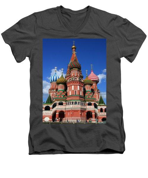 St. Basil's Cathedral Men's V-Neck T-Shirt