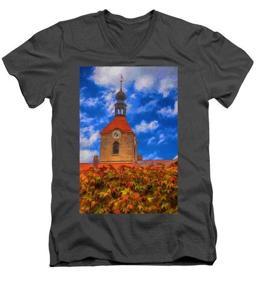 St. Jakobus - Hahnbach Men's V-Neck T-Shirt
