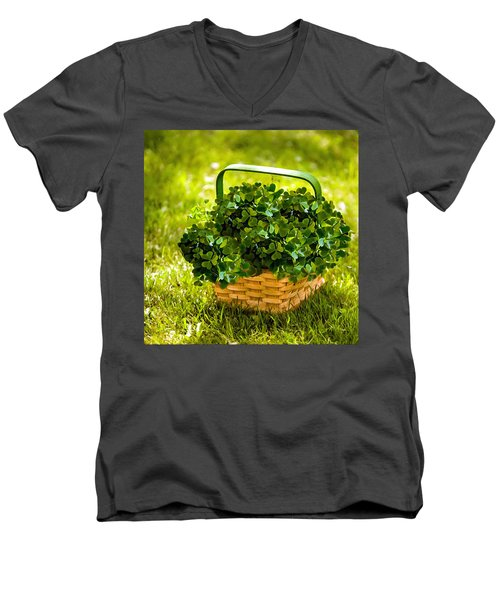 St Patricks Day Men's V-Neck T-Shirt