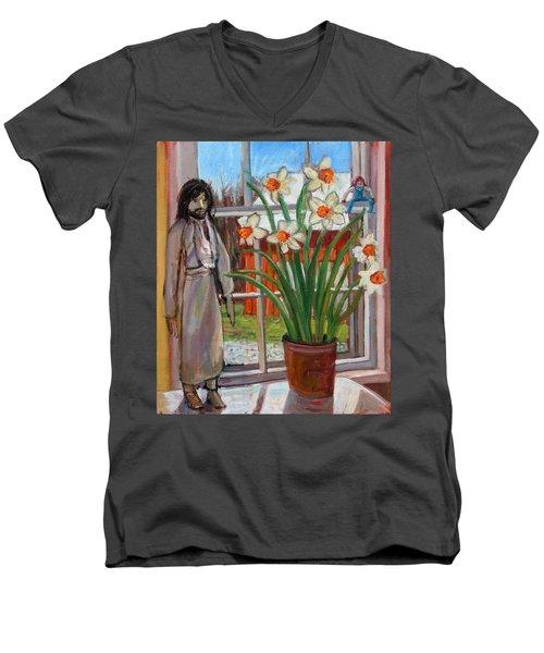 St007 Men's V-Neck T-Shirt