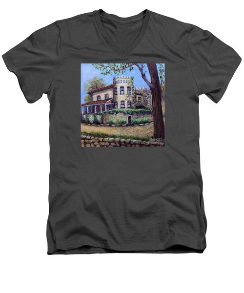 Stags' Leap Manor House Men's V-Neck T-Shirt