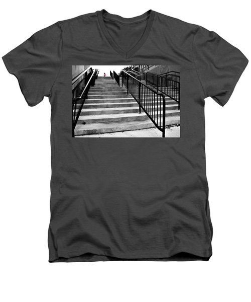 Stairway To Freedom Men's V-Neck T-Shirt