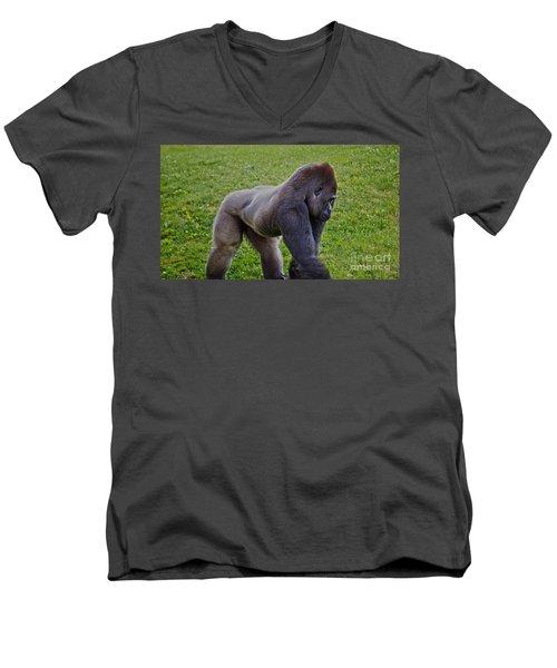 Stand Off Men's V-Neck T-Shirt